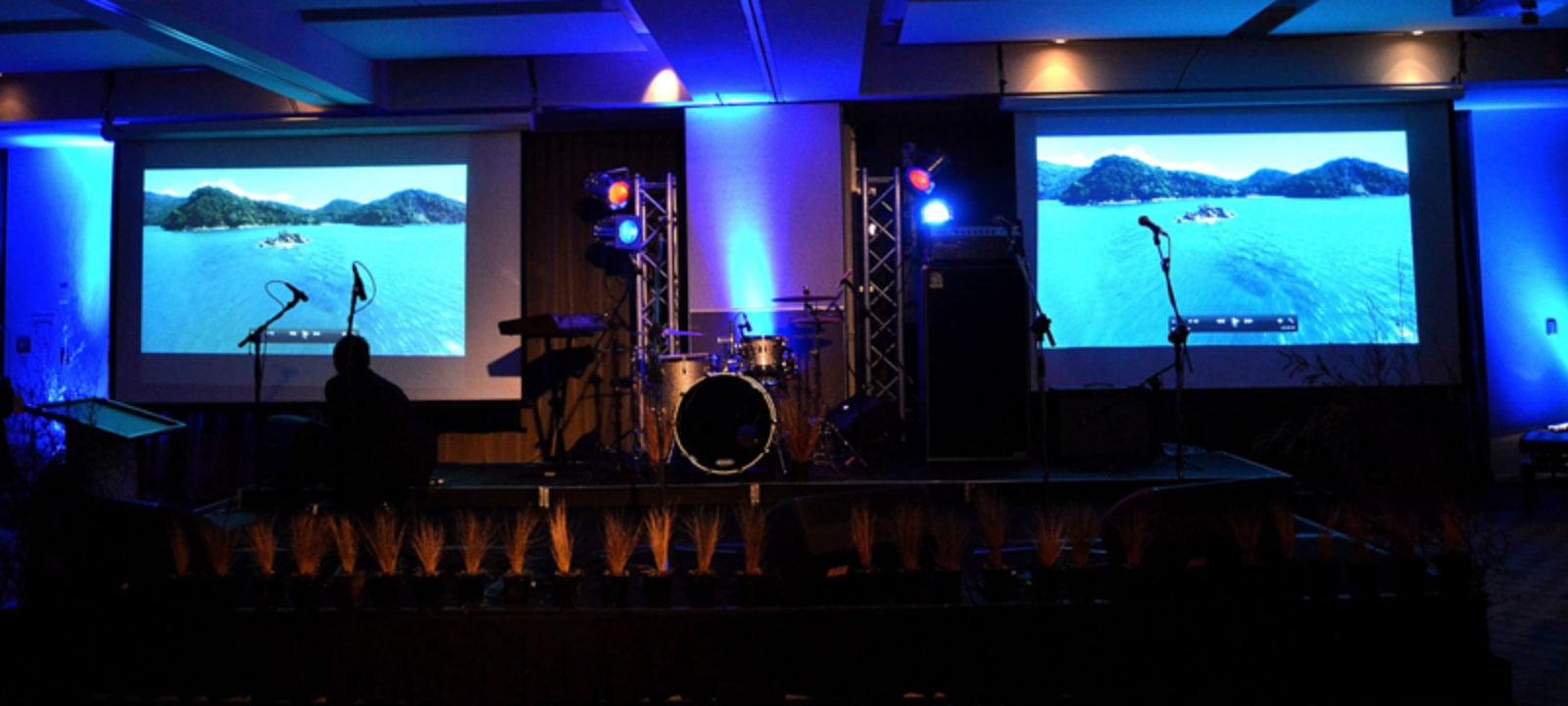 The Rock Factory - Stage Hire, Sound Hire, Backline Hire, Audio Visual Hire & Lighting Hire