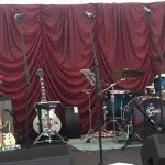 Production Hire Band Backline for hire including drum kits and guitar amps