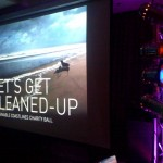 Hire AV, Projector, Screens, lighting and PS system setup for Charity Ball
