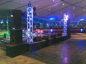 Band Touring Pa System Hire For Medium Sized Concerts
