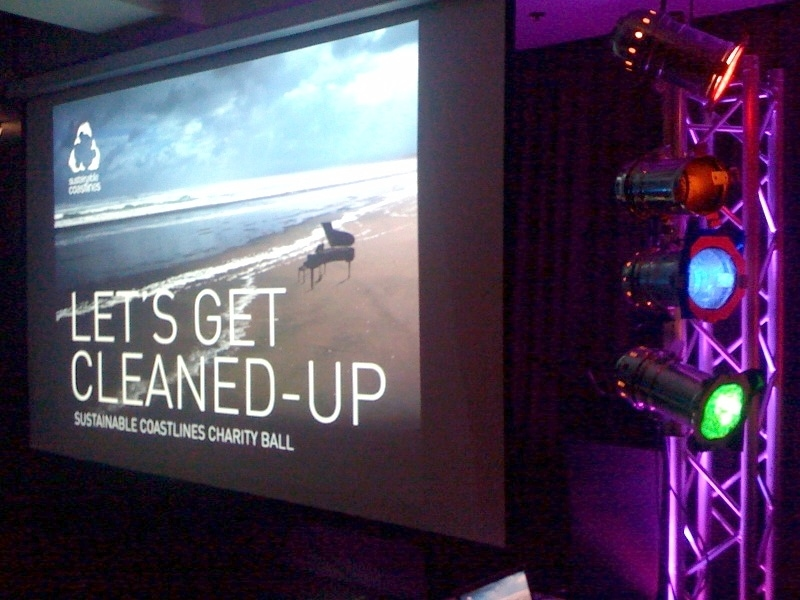 Projector and screen hire - audio visual hire auckland, av hire auckland, Projection screen hire