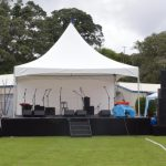 Event production for Food And Wine Festival
