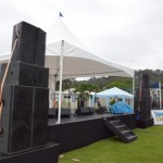 we can deliver and install stages for your event, stage hire auckland or staging hire auckland, event staging