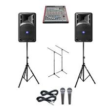 vocal pa for hire, party sound system hire, hire speakers auckland