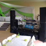 party hire - event production for special occasions, weddings and parties, party sound hire