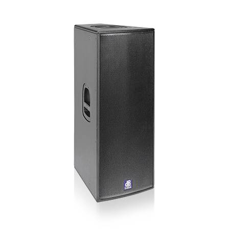 hire powered foh speakers, double 12 and horn active speakers