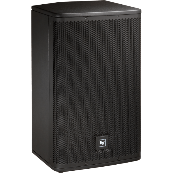 Hire Powered PA Speakers, Live X, ELX 112P, 12 inch and horn speaker