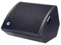 hire foldback wedges, 12 inch concetric floor monitors, stage wedges