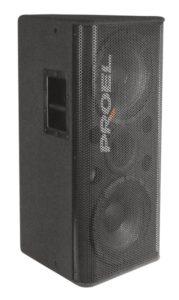 Hire Front of House Speakers, 212 Double 12 inch and horn speaker