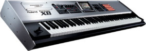 Hire keyboard, Roland Fantom X8 workstation