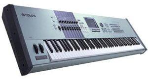 hire keyboard, yamaha motif keyboard, yamaha workstation