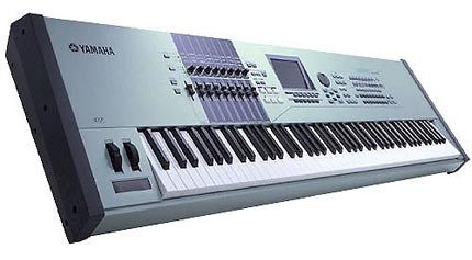 hire keyboard, hire yamaha motif keyboard, hire yamaha workstation, Yamaha keyboard hire