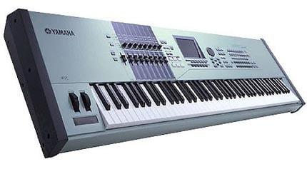 hire keyboard, hire yamaha motif keyboard, hire yamaha workstation