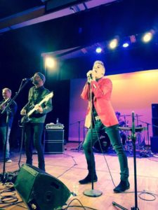 Shane Cortese and the 8 Track band, hire a band, onstage picture