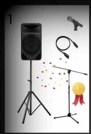 Vocal PA Option 1