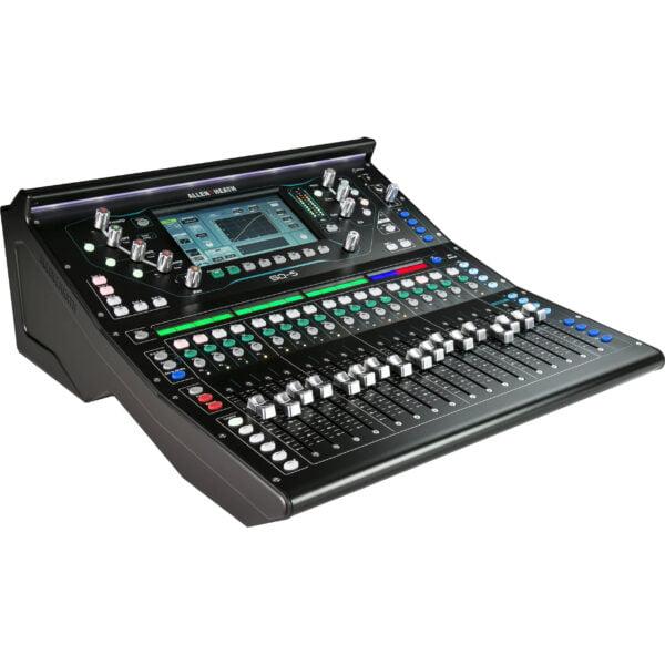 Allen and Heath SQ5 mixing desk, sound desk hire, audio mixer