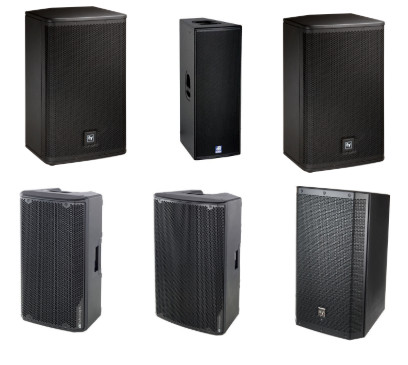 We have a range of active speakers to hire