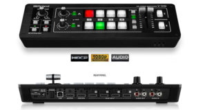 Roland vision mixer, HDMI Video Switcher for live streaming events, vision mixer hire